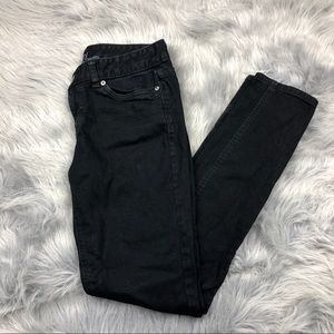 Women's premium denim mossimo skinny jeans Sz 6R